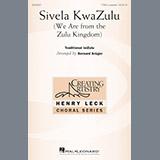 Bernard Krüger Sivela Kwazulu Sheet Music and PDF music score - SKU 195520