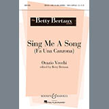 Betty Bertaux Sing Me A Song (Fa Una Canzona) Sheet Music and PDF music score - SKU 93134