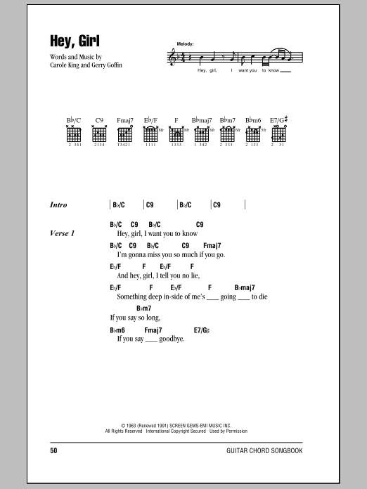 Download Billy Joel Hey, Girl sheet music and printable PDF score & Rock music notes