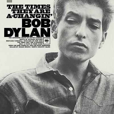 Bob Dylan, The Times They Are A-Changin', Piano, Vocal & Guitar (Right-Hand Melody)