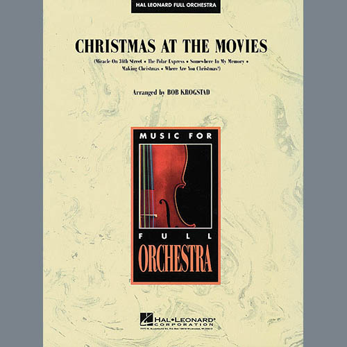 Bob Krogstad, Christmas At The Movies - Bb Clarinet 2, Full Orchestra