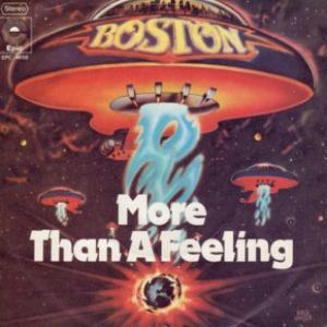 Boston, More Than A Feeling, Easy Piano