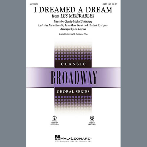 Boublil and Schonberg I Dreamed A Dream (from Les Miserables) (arr. Ed Lojeski) profile image