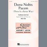 Brian Tate Dona Nobis Pacem (There Is A Better Way) Sheet Music and PDF music score - SKU 163965