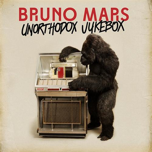 Bruno Mars, Young Girls, Piano, Vocal & Guitar (Right-Hand Melody)