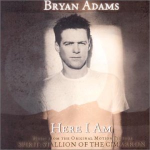 Bryan Adams, Here I Am (End Title), Piano, Vocal & Guitar (Right-Hand Melody)