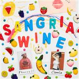 Camila Cabello and Pharrell Williams Sangria Wine Sheet Music and PDF music score - SKU 252884