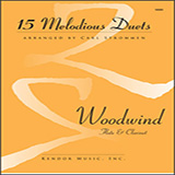 Carl Strommen 15 Melodious Duets Sheet Music and PDF music score - SKU 404875