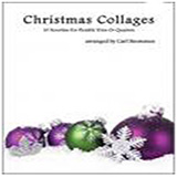 Carl Strommen Christmas Collages - Violin Sheet Music and PDF music score - SKU 472697