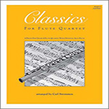 Carl Strommen Classics For Flute Quartet - 2nd Flute Sheet Music and PDF music score - SKU 125013