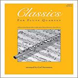 Carl Strommen Classics For Flute Quartet - Full Score Sheet Music and PDF music score - SKU 125015