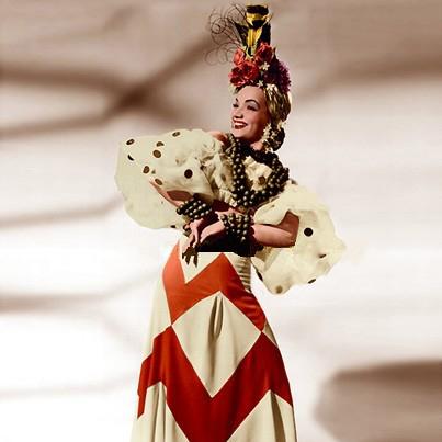 Carmen Miranda, Tico Tico (Tico Tico No Fuba), Piano, Vocal & Guitar (Right-Hand Melody)