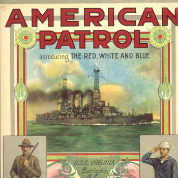 The American Patrol sheet music