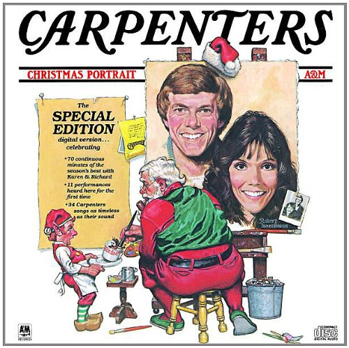 Carpenters, It's Christmas Time, Piano, Vocal & Guitar (Right-Hand Melody)