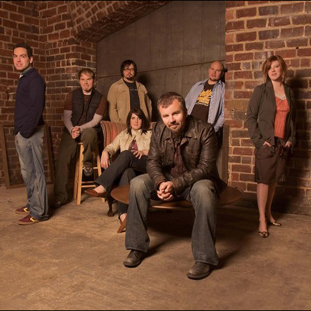 Casting Crowns, Somewhere In The Middle, Piano, Vocal & Guitar (Right-Hand Melody)