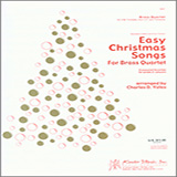 Charles D. Yates Easy Christmas Songs For Brass Quartet - Horn in F Sheet Music and PDF music score - SKU 374086