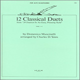 Charles Yates 12 Classics Duets (from 24 Duettos In An Easy, Pleasing Style) Sheet Music and PDF music score - SKU 125060