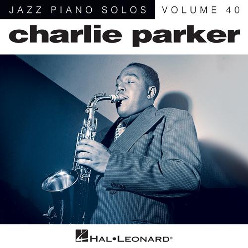 Charlie Parker, Dewey Square (arr. Brent Edstrom), Piano