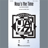 Charlie Parker Now's the Time (arr. Kirby Shaw) - Drums Sheet Music and PDF music score - SKU 403786
