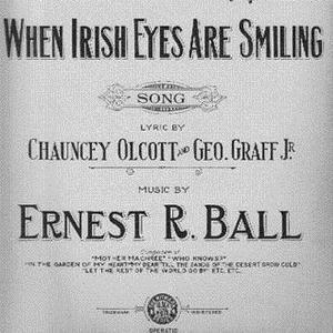 When Irish Eyes Are Smiling sheet music