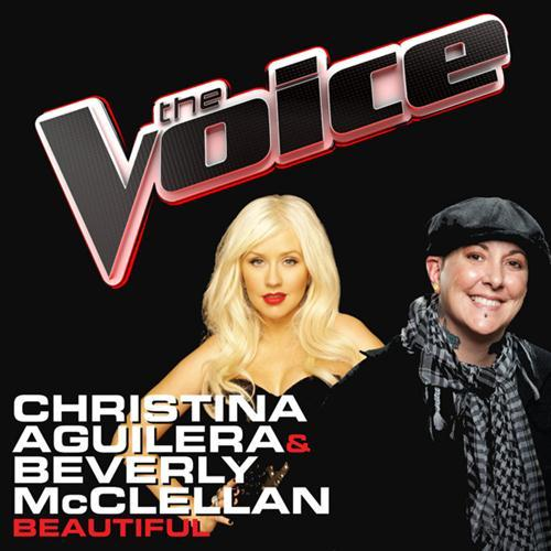 Christina Aguilera & Beverly McClellan, Beautiful, Piano