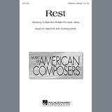 Christina Rossetti Rest Sheet Music and PDF music score - SKU 73332