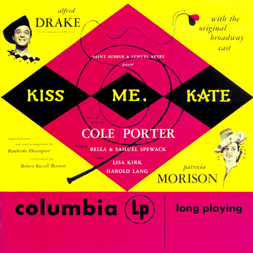 Another Op'nin', Another Show (from Kiss Me, Kate) sheet music