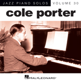 Cole Porter I Love Paris [Jazz version] (arr. Brent Edstrom) Sheet Music and PDF music score - SKU 155743