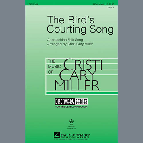 The Bird's Courting Song sheet music