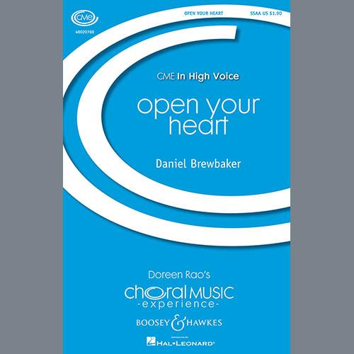 Daniel Brewbaker Open Your Heart profile image