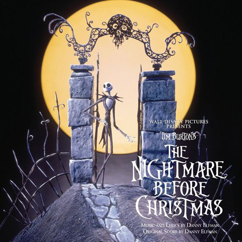 Danny Elfman, Sally's Song (from The Nightmare Before Christmas), Piano