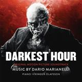 Dario Marianelli The Words Won't Come (from Darkest Hour) Sheet Music and PDF music score - SKU 125896