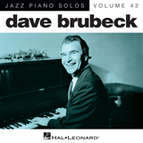 Dave Brubeck The Trolley Song [Jazz version] Sheet Music and PDF music score - SKU 181221