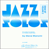 Dave Mancini Jazz Solos For Drum Set, Volume 2 Sheet Music and PDF music score - SKU 124888