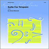 Dave Mancini Suite For Timpani Sheet Music and PDF music score - SKU 124786