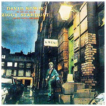 David Bowie, Starman, Piano, Vocal & Guitar (Right-Hand Melody)