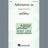 David Hicken Adoramus Te Sheet Music and PDF music score - SKU 269657