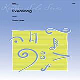 David Uber Evensong - Piano Accompaniment Sheet Music and PDF music score - SKU 373428
