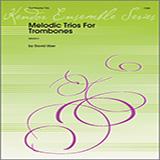 David Uber Melodic Trios For Trombones Sheet Music and PDF music score - SKU 125057