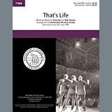 Dean Kay & Kelly Gordon That's Life (arr. Barbershop Harmony Society) Sheet Music and PDF music score - SKU 474962