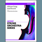 Deborah Baker Monday African Song And Round - 2nd Violin Sheet Music and PDF music score - SKU 336693