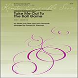 Donald M. Sherman Take Me Out To The Ball Game - 1st Baritone B.C. Sheet Music and PDF music score - SKU 368187