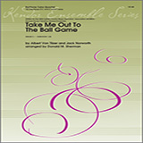 Donald M. Sherman Take Me Out To The Ball Game - 2nd Baritone B.C. Sheet Music and PDF music score - SKU 368189