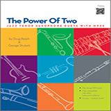 Doug Beach The Power Of Two - Tenor Saxophone Sheet Music and PDF music score - SKU 124975