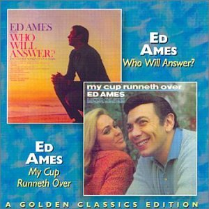 Ed Ames, My Cup Runneth Over, Piano, Vocal & Guitar (Right-Hand Melody)