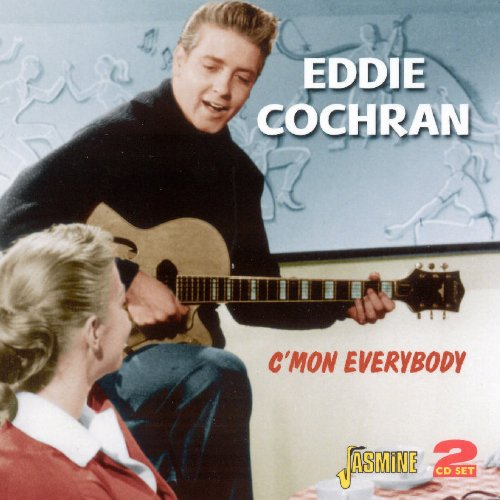Eddie Cochran, C'mon Everybody, Piano, Vocal & Guitar (Right-Hand Melody)