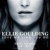 Ellie Goulding Love Me Like You Do Sheet Music and PDF music score - SKU 161083