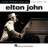 Elton John Blue Eyes [Jazz version] (arr. Brent Edstrom) Sheet Music and PDF music score - SKU 151625