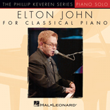 Elton John I Guess That's Why They Call It The Blues [Classical version] (arr. Phillip Keveren) Sheet Music and PDF music score - SKU 154329