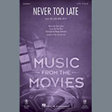 Elton John Never Too Late (from The Lion King 2019) (arr. Roger Emerson) Sheet Music and PDF music score - SKU 429861